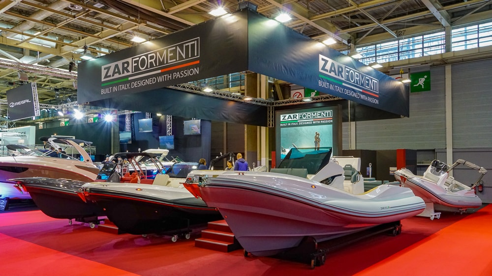 Zar Formenti Salon nautique de Paris
