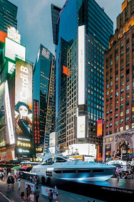 Azimut S6 Times Square New York
