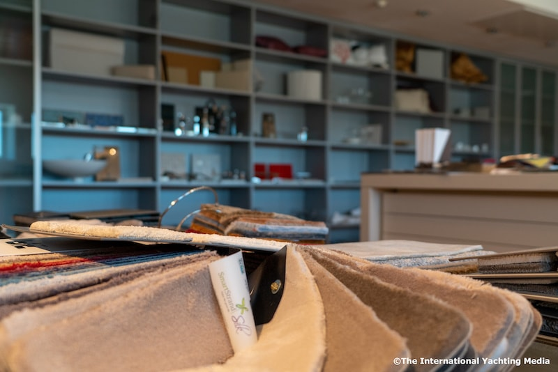 Filippetti Yacht, showroom
