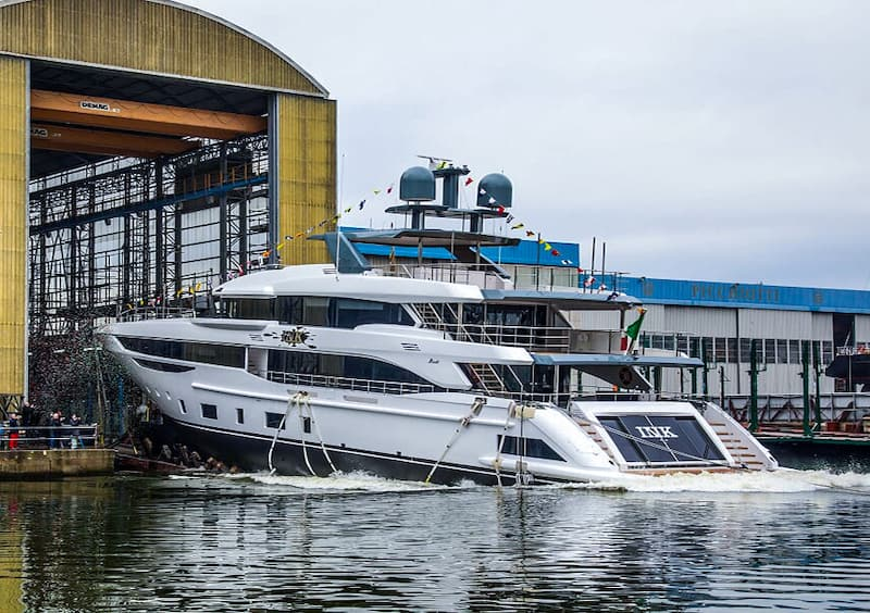Benetti Diamond 145 lancement