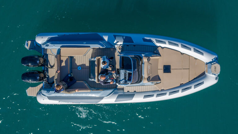 Ranieri Cayman 28.0 Executive vue de l'haut