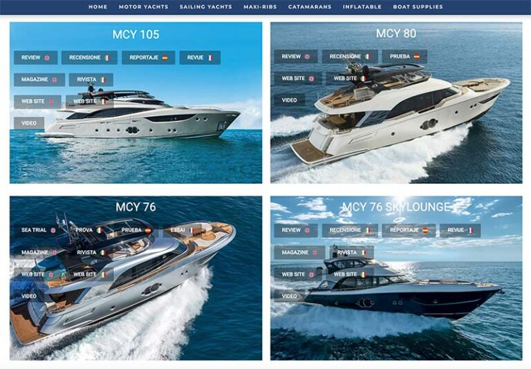 Virtual Boat Show MCY