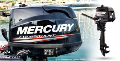 Mercury Fourstroke 4HP Test